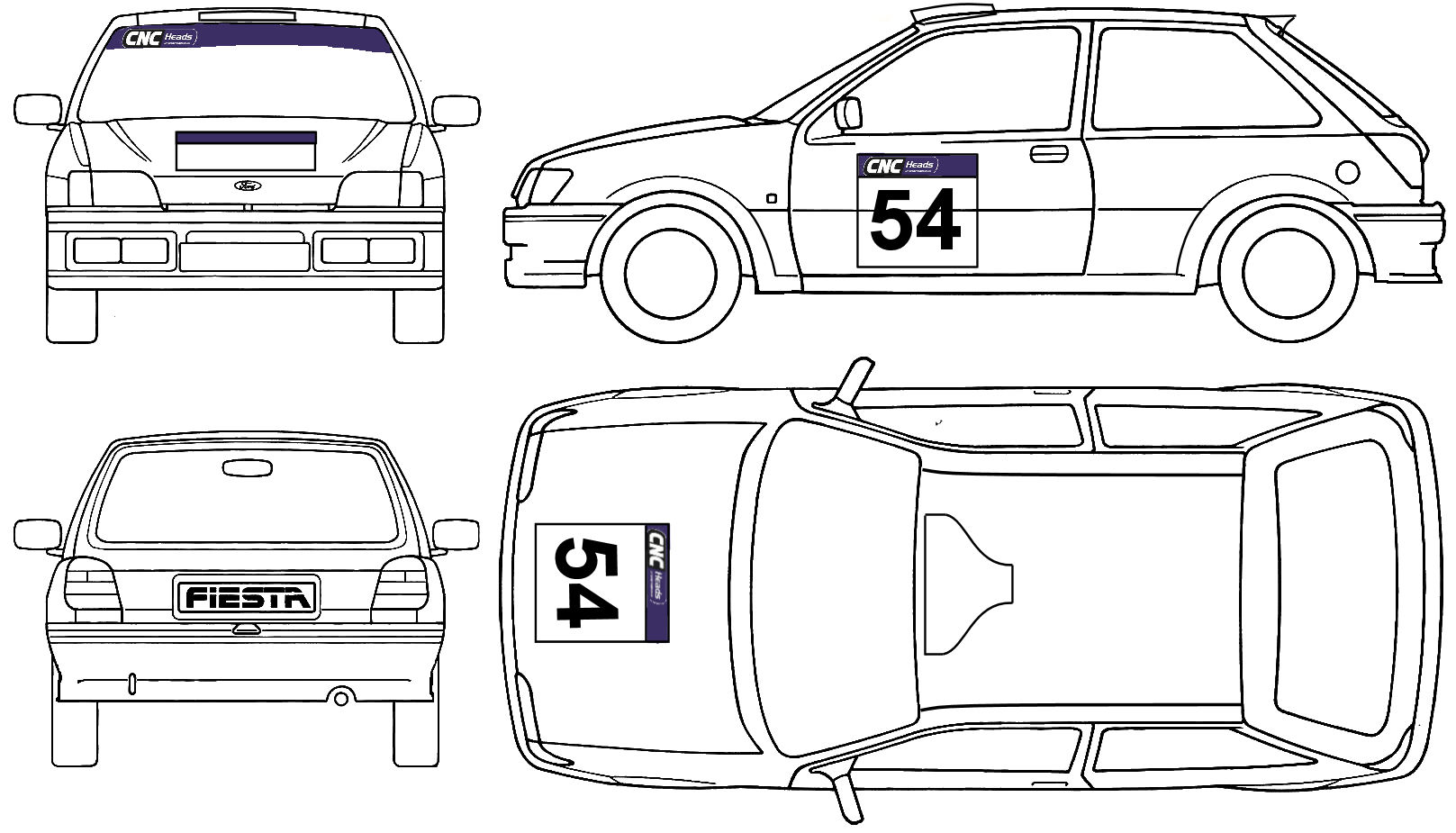 Race Car Livery Design Competition | Gradient Engineering Ltd