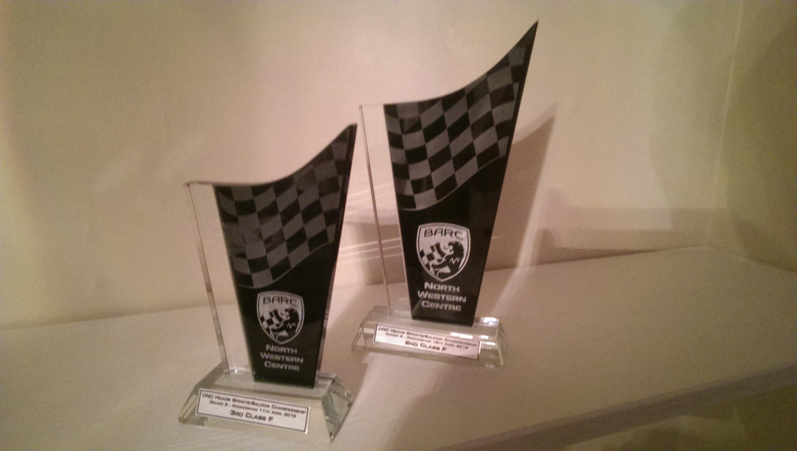 BARC trophies