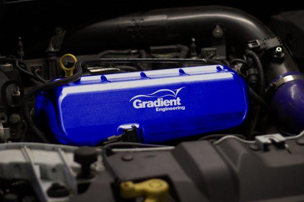 Focus RS Mk3 Billet Inlet Manifold Blue