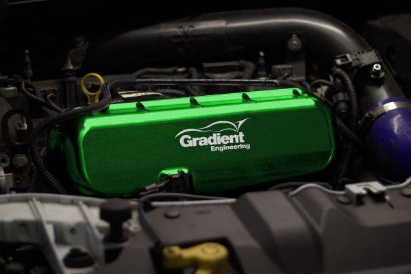 Focus RS Mk3 Billet Inlet Manifold Green