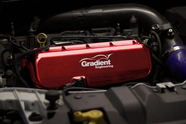 Focus RS Mk3 Billet Inlet Manifold Red