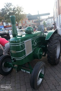 Old Tractor Front